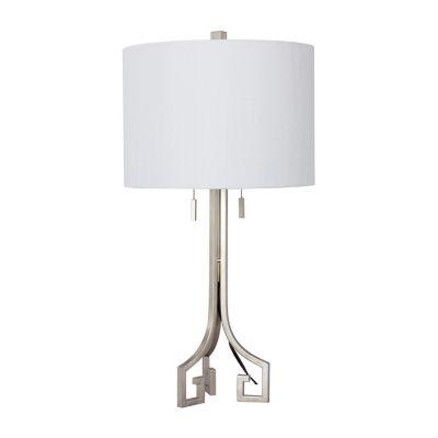 "Fangio Lighting's 27"" Modern Metal Table Lamp"