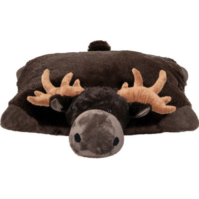 "Wild Chocolate Moose 18"" Plush Pillow Pet"