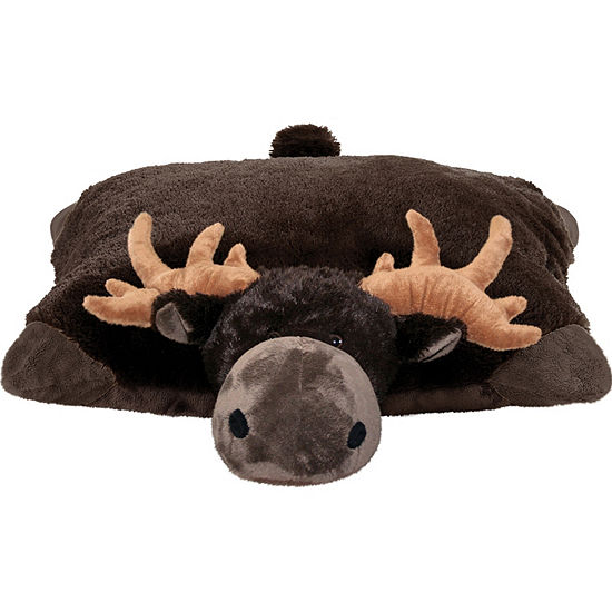 Wild Chocolate Moose 18 Plush Pillow Pet