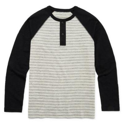 Arizona Boys Long Sleeve Henley Shirt