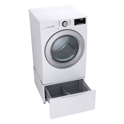 LG ENERGY STAR® 7.4 cu. ft. Smart Wi-Fi Enabled Front Load Gas Dryer