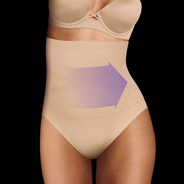 Maidenform Seamless High-Waist Control Briefs 12553j