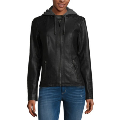 a.n.a Faux Leather Lightweight Motorcycle Jacket