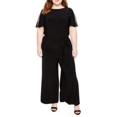 MSK Split Sleeve Jumpsuit - Plus