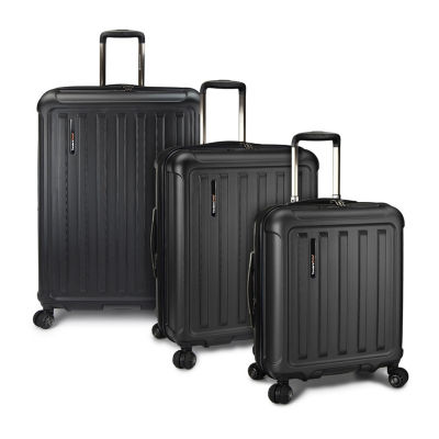 Travelers Choice Art Of Travel 3-pc. Hardside Luggage Set