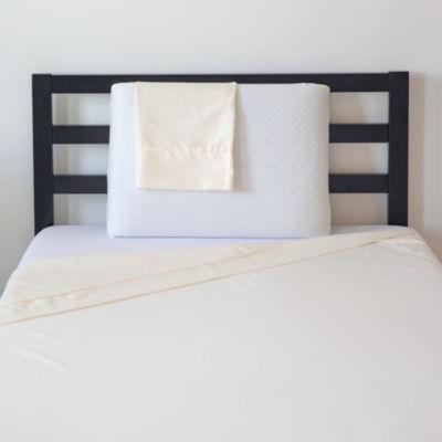 SensorPEDIC Pillow, Protector & Sheet Set Bundle