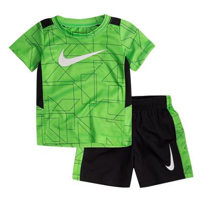 Nike Nike Baby Su18 Sets 2-pack Short Set Boys
