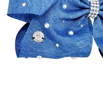 JoJo Siwa Signature Chambrey Bow With Pearls
