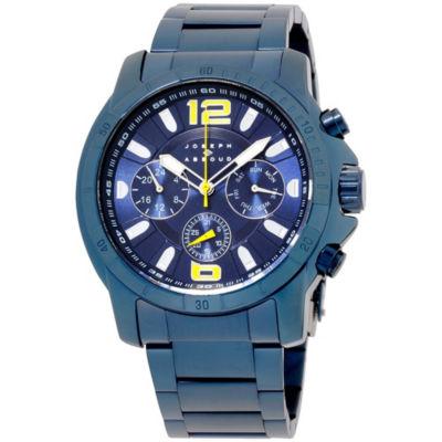 Joseph Abboud Mens Blue Strap Watch-Ja3212bu648-032