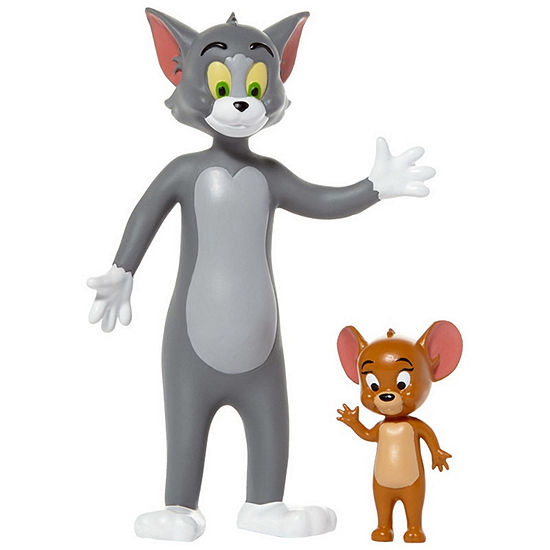 Nj Croce Tom & Jerry Bendable Action Figure 2-Pack