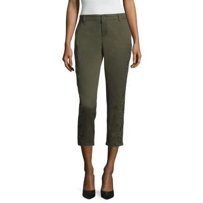 "Liz Claiborne Ankle Pants - Tall Inseam 30"""