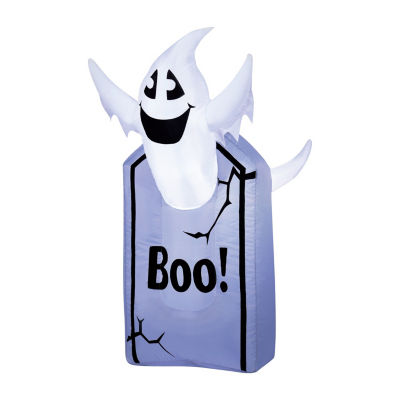 3.5 Foot Tomb with Ghosts Halloween Outdoor Inflatable