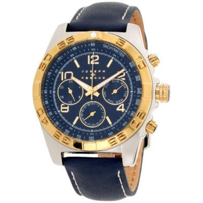 Joseph Abboud Mens Blue Strap Watch-Ja3219s648-104