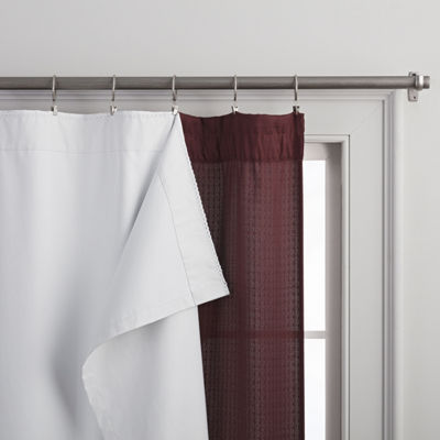 Home Expressions 100% Blackout Rod-Pocket Curtain Liner