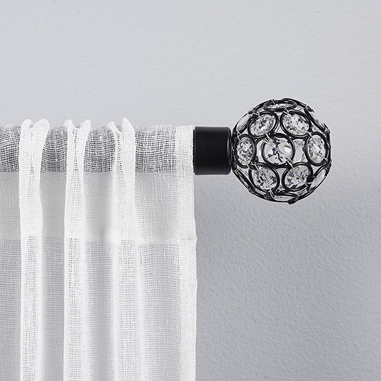 Exclusive Home Curtains Rings 1 IN Curtain Rod