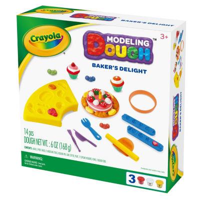 Crayola Bakers Delight Modeling Dough Kit