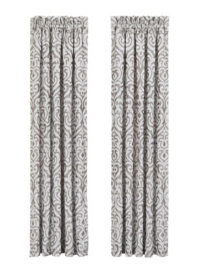 Queen Street Lakeview Rod-Pocket Curtain Panel