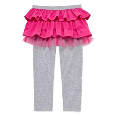 Okie Dokie Mesh Leggings - Toddler Girls