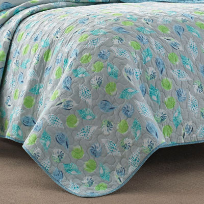 Laura Ashley At The Seashore Quilt Set