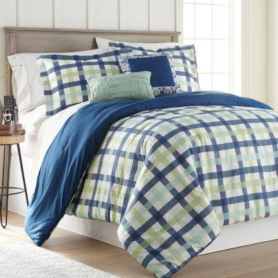 Hawthorne Park Gingham 5PC Comforter Set
