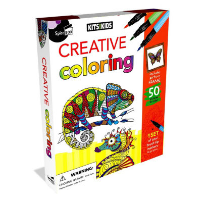 Spicebox Kits For Kids Creative Coloring Crafts/School Supplies