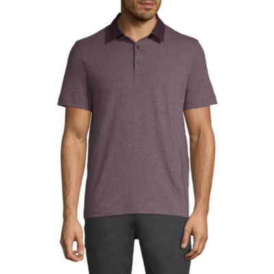 Axist Short Sleeve Woven Polo Shirt