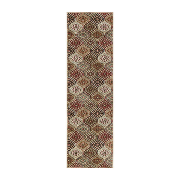 Tayse Darbee Contemporary Geometric Runner Rug
