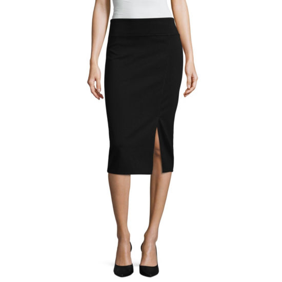 Worthington Ponte Pencil Skirt - Tall