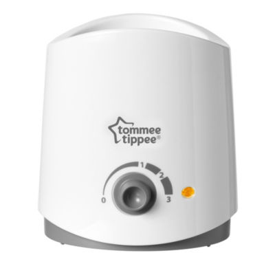 Tommee Tippee Closer to Nature Electric Food and Baby Bottle Warmer - White