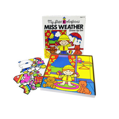 Colorforms Create A Story Miss Weather Re-Stickable Playset