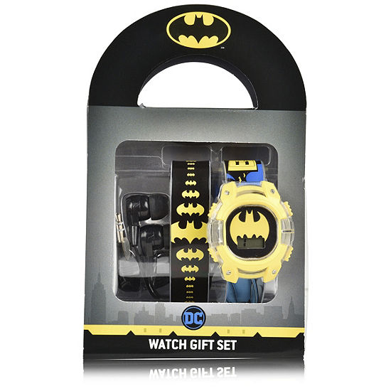 Batman Unisex Adult Multicolor Watch Boxed Set-Bat40014jc