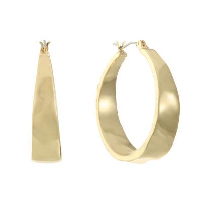 Gloria Vanderbilt 33.6mm Hoop Earrings