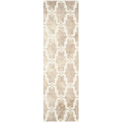 Safavieh Dip Dye Collection Wendell Geometric Runner Rug