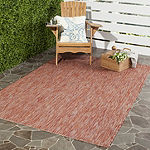Safavieh Courtyard Collection Elisa Geometric Indoor/Outdoor Area Rug