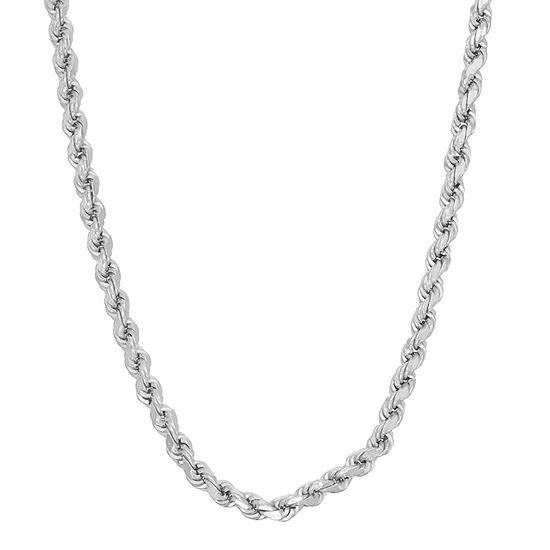 16 Inch Solid Rope Chain Necklace