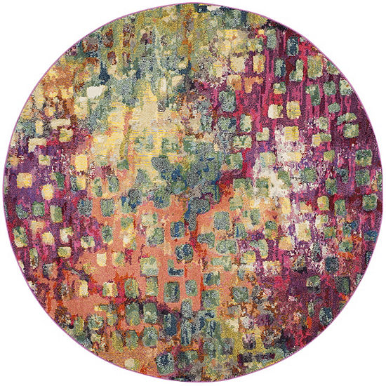 Safavieh Monaco Collection Doreen Abstract Round Area Rug