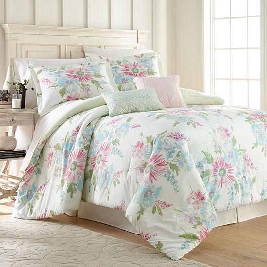 Hawthorne Park Bold Floral 5PC Comforter Set