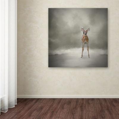 Trademark Fine Art Jai Johnson Stand Strong LittleFawn Giclee Canvas Art