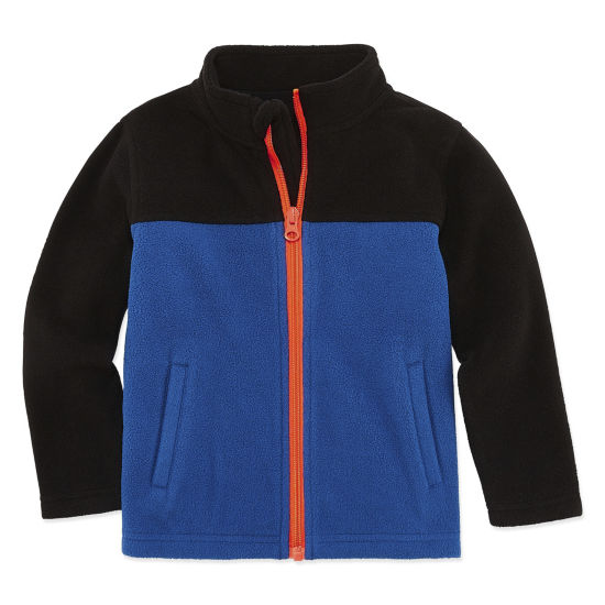 Okie Dokie Lightweight Fleece Jacket-Toddler Boys