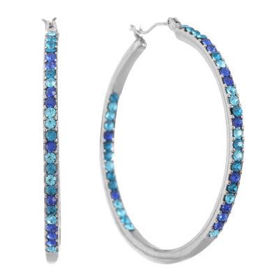 Gloria Vanderbilt 49mm Hoop Earrings