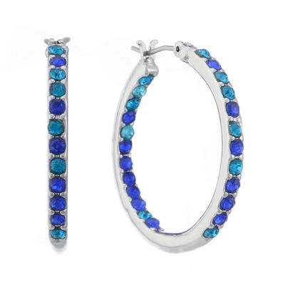 Gloria Vanderbilt 29.5mm Hoop Earrings