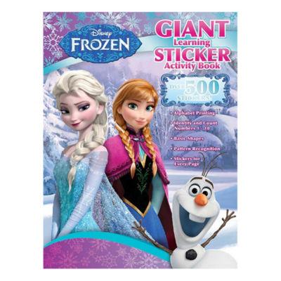 Bendon Disney Frozen Giant Learningsticker Activity Book