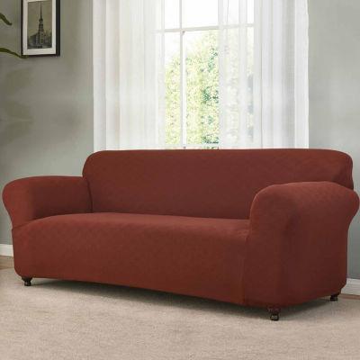 Checkerboard Sofa Slipcover