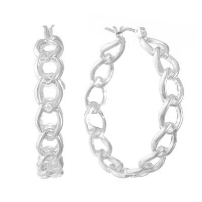 Gloria Vanderbilt 37.2mm Hoop Earrings
