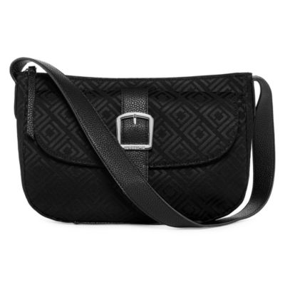 Liz Claiborne Penny Top Zip Shoulder Bag