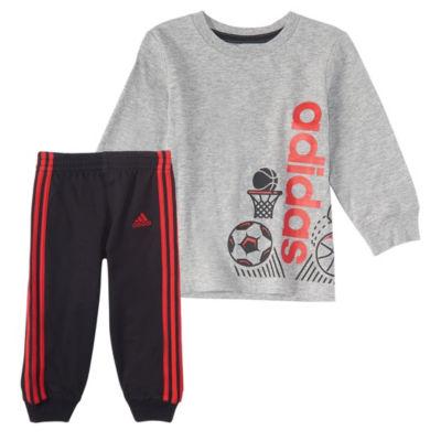 Adidas 2-Pc. All Sport Set - Baby Boys