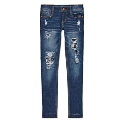 Arizona Sequin Skinny Jean Girls 4-16 and Plus