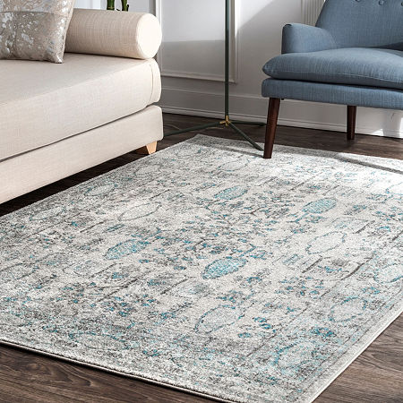 nuLoom Vintage Gabbeh Lopes Area Rug, One Size , Blue