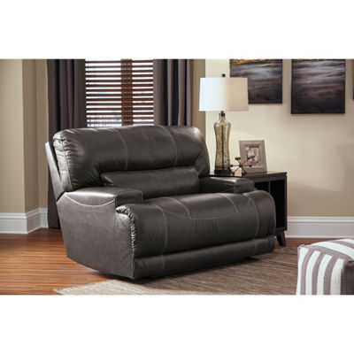 Signature Design By Ashley® Mccaskill Leather Oversized Recliner