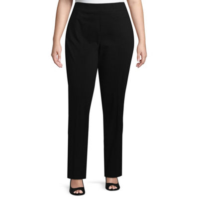 Liz Claiborne Millenium Pull On Pant - Plus